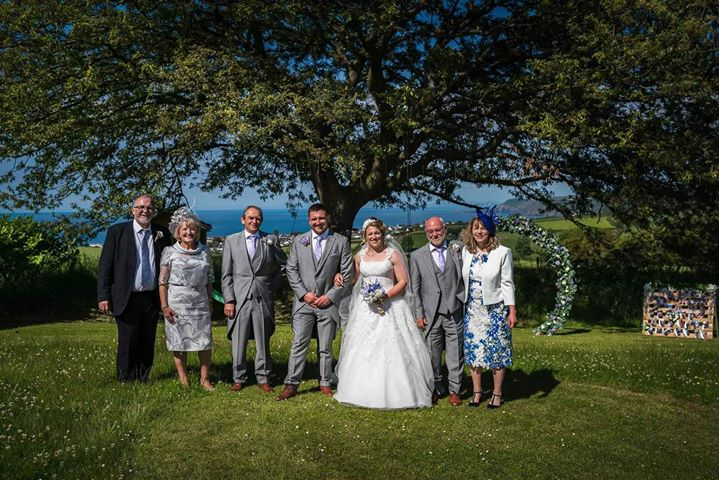 Penlan Coastal Cottages' first wedding